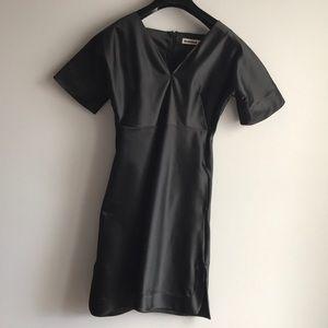 Black Jil Sander dress, made in Italy
